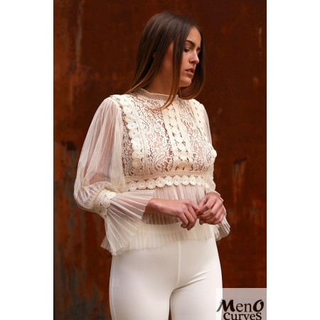 Top Abril 3103 Beige