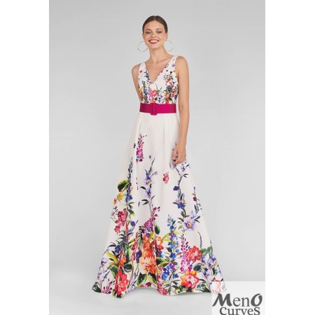 Vestido MARIA LAGO Clotil-Blanco