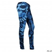 Leggings Yakuza Azul