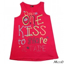 camiseta one kiss